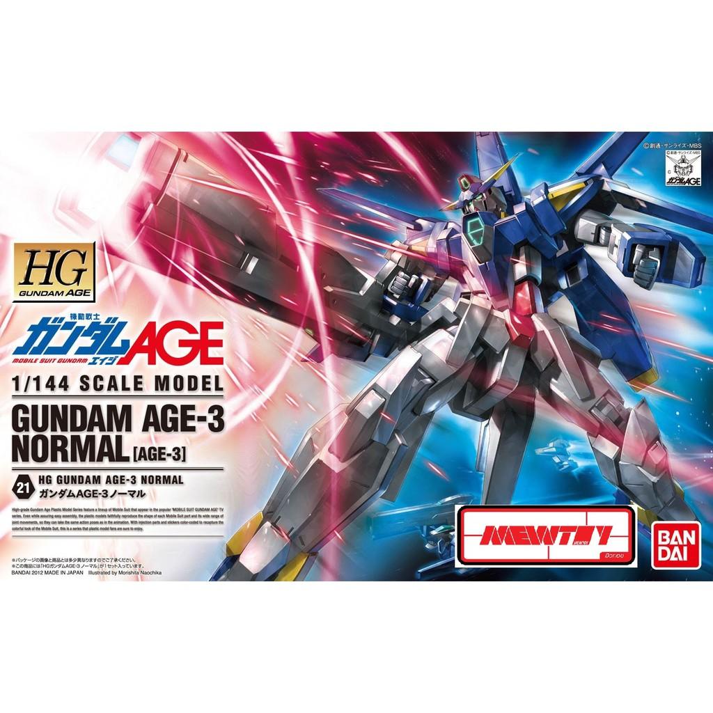 Age-3 Normal HG 1/144 Gundam Age-3 Normal สินค้าพร้อมส่งวันที่ 10/