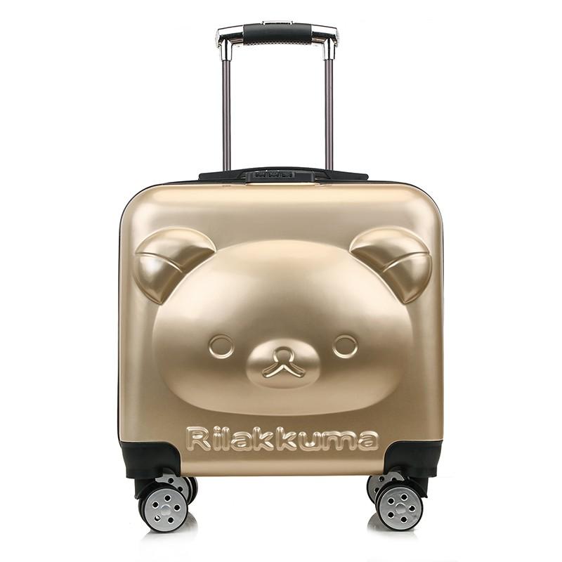 ィ✌กระเป๋าเดินทางเด็ก  กระเป๋ารถเข็นเดินทาง กระเป๋าเดินทางพกพา กระเป๋าเดินทางรถเข็นสำหรับเด็กที่กำหนดเอง, กระเป๋าเดินทางก