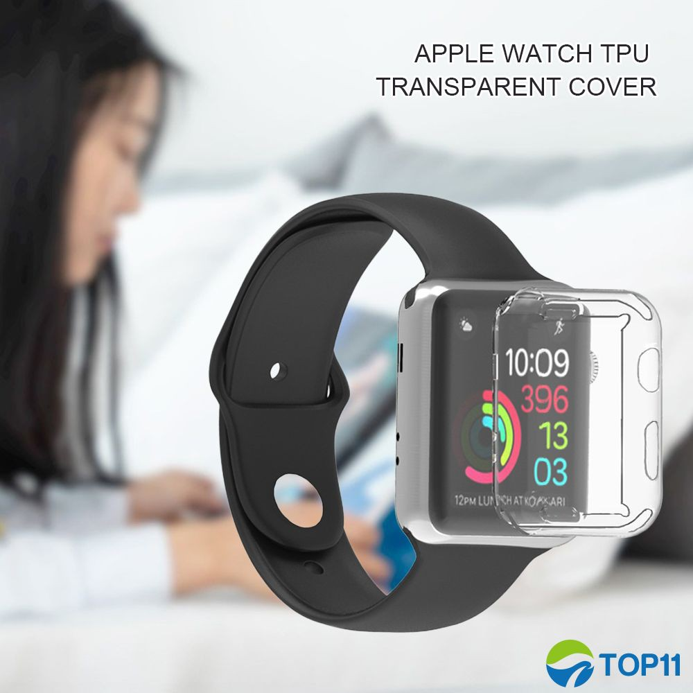 【ready start】 For Apple Watch/2/3/4 Generation Watch Frame Iwatch Protection TPU Case Anti-drop Shell 38/42/40/44mm