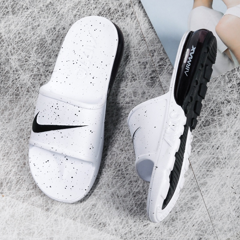 Nike Air Max 90 Slide รองเท้าผ้าใบลําลองแฟชั่นสําหรับผู้ชายใส่สบายเหมาะกับการเล่นกีฬา