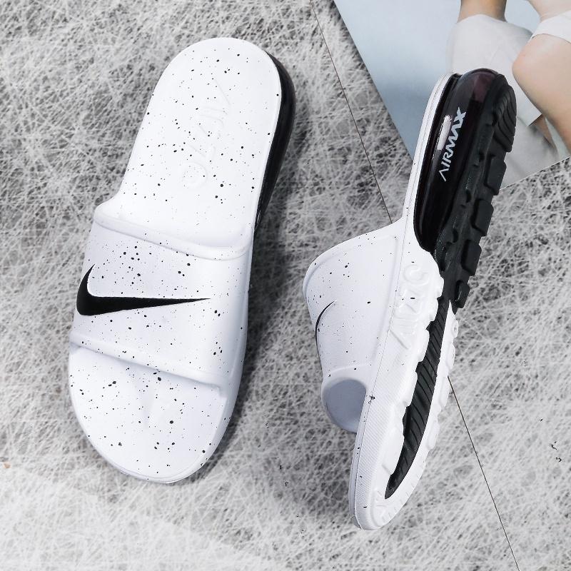 Nike Air Max 90 Slide รองเท้ากีฬารองเท้าแตะลําลองสําหรับผู้ชาย