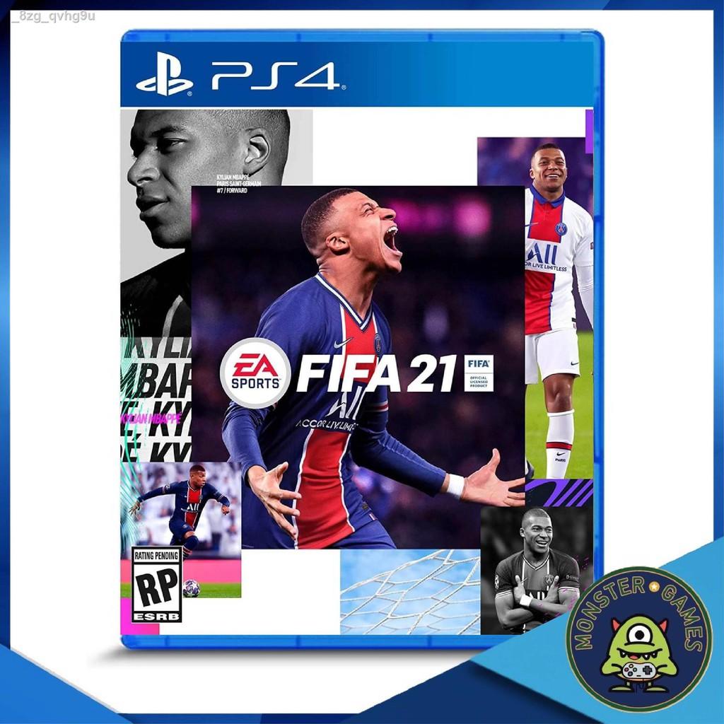 🔥รุ่นขายดี🔥ขายเฉพาะจุด🔥✚♘FIFA 21 Ps4 Zone 3 แผ่นแท้มือ 1 !!!!! (เกมส์ Ps4) (แผ่นเกมส์ (FIFA21 (Fifa2021 (Fifa 2021