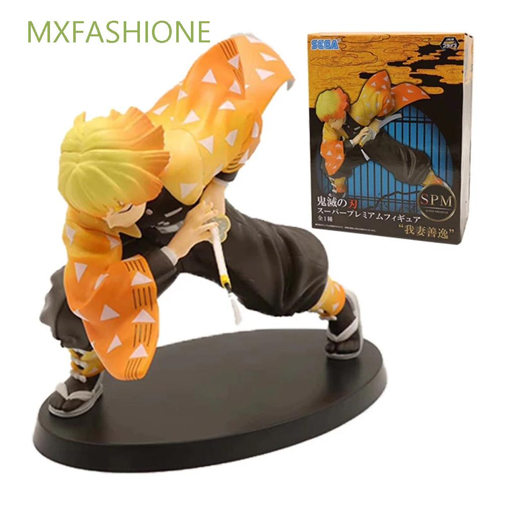 MXFASHIONE Japanese Anime Figure Model Doll Gift Kimetsu no Yaiba Demon Slayer Toys Action Figure Demon Blade PVC Toy 15