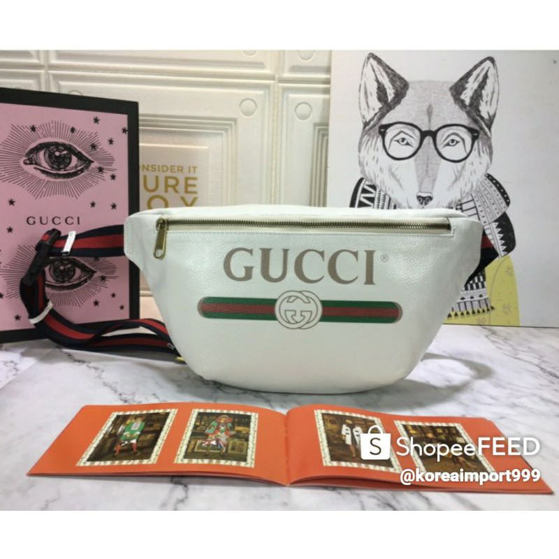 Gucci Print GG Belt Bag