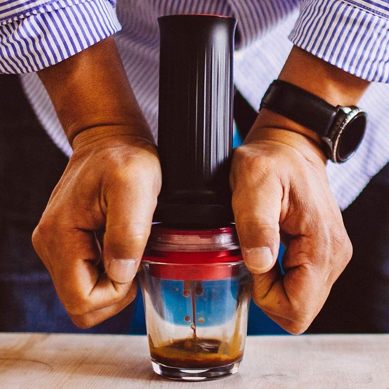 🔥เครื่องชงกาแฟแบบกดด้วยมือ Cafflano Kompresso ของเกาหลีแบบพกพากาแฟทำมือแบบพกพา