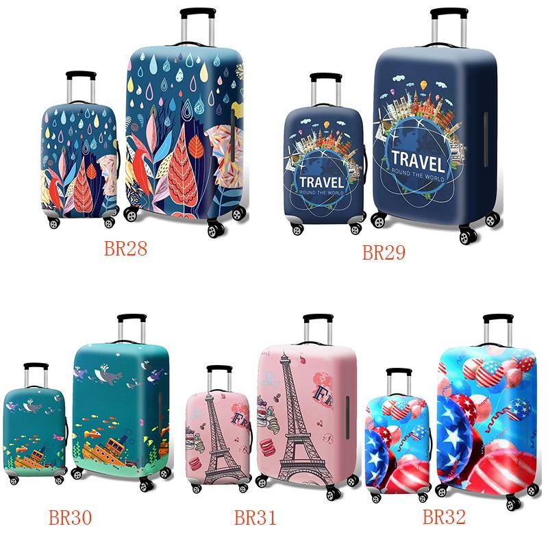 ผ้าคลุมกระเป๋าเดินทางป้องกันฝุ่น 18-32