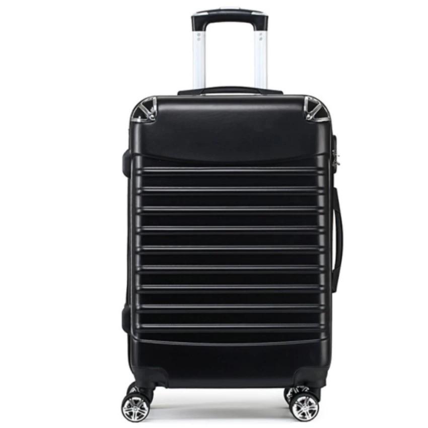 กระเป๋าเดินทาง 24 นิ้วสีดำ/สีเทากระเป๋าเดินทาง