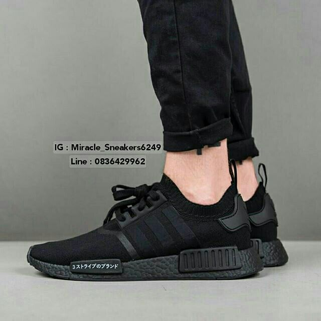 Adidas Nmd R1 Triple Black Japan Off 55 Www Skolanlar Nu