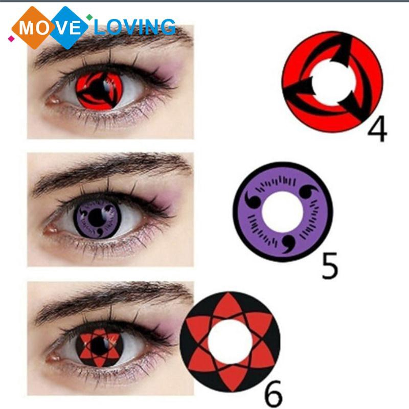 1PC Cool HEMA NVP Cosmetic Contact Lenses Case For Eyes Yearly Disposable  Makeup