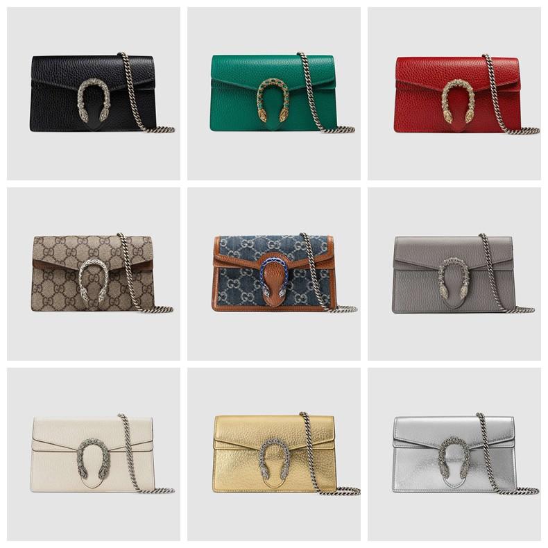 Gucci / Dionysus series leather super mini handbag