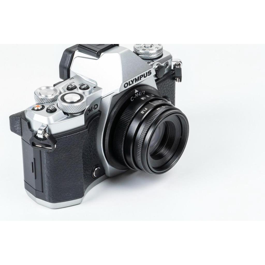 Camera New Fujian 25mm F1.8 เลนส์หน้าชัดหลังเบลอ สำหรับใส่กล้อง OLYMPUS AND PANASONIC LUMIX ( เลนส์มือหมุน )amera New Fu