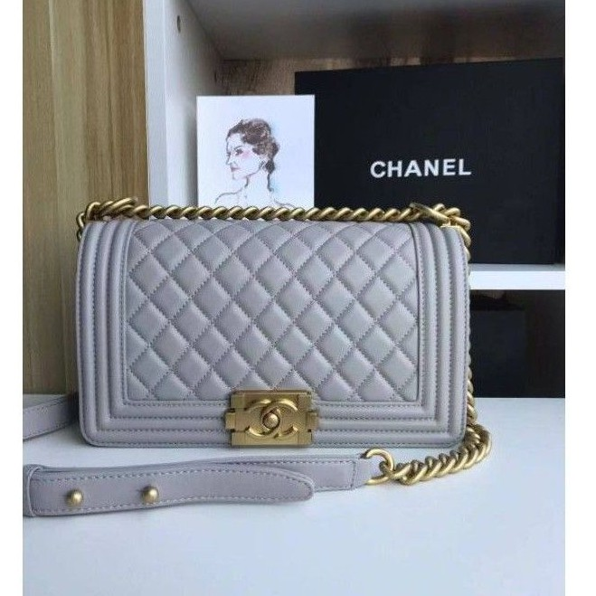 Chanel​ boy10'' Lambskin​ Original​1:1VIP​