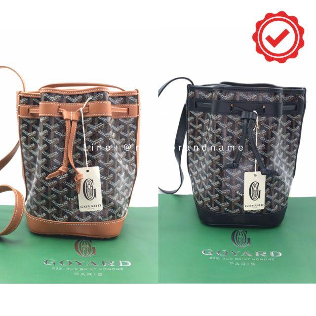 🌟พร้อมส่งเลื่อนดูสี🌟  New Goyard Petite Flot Bucket Bag