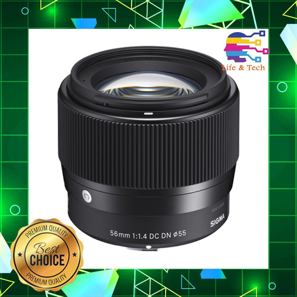 Sigma 56mm f/1.4 DC DN Contemporary Lens (Micro Four Thirds)