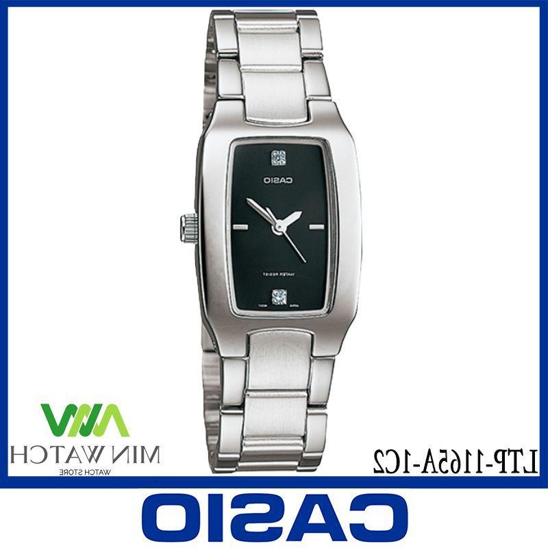 《ลดล้างสต๊อก》นาฬิกา รุ่น Casio นาฬิกาข้อมือ นาฬิกาผู้หญิง รุ่น LTP-1165N-9C สายสแตนเลส ของแท้100% ประกันศูนย์CASIO 1 ปี
