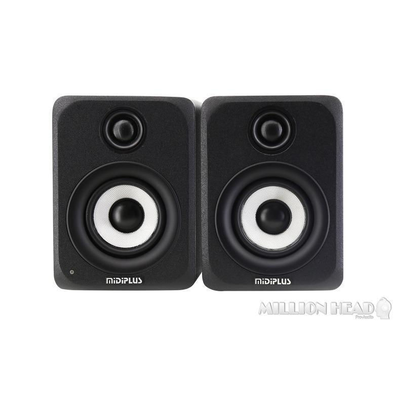 MidiPlus : MI3 (Studio Monitor พร้อมดอกลำโพงขนาด 3 นิ้ว พร้อมกำลังขับ 60 วัตต์ พร้อม Power Amp Class-D)
