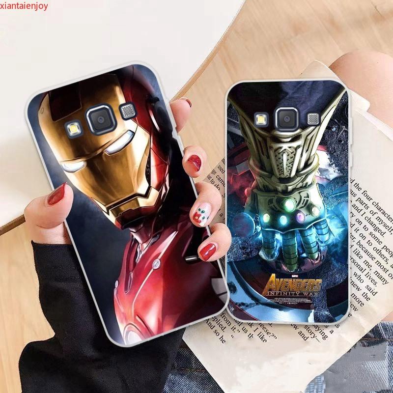 Samsung A3 A5 A6 A7 A8 A9 Star Pro Plus E5 E7 2016 2017 2018 Avengers pattern-6 Soft Silicon Case Cover