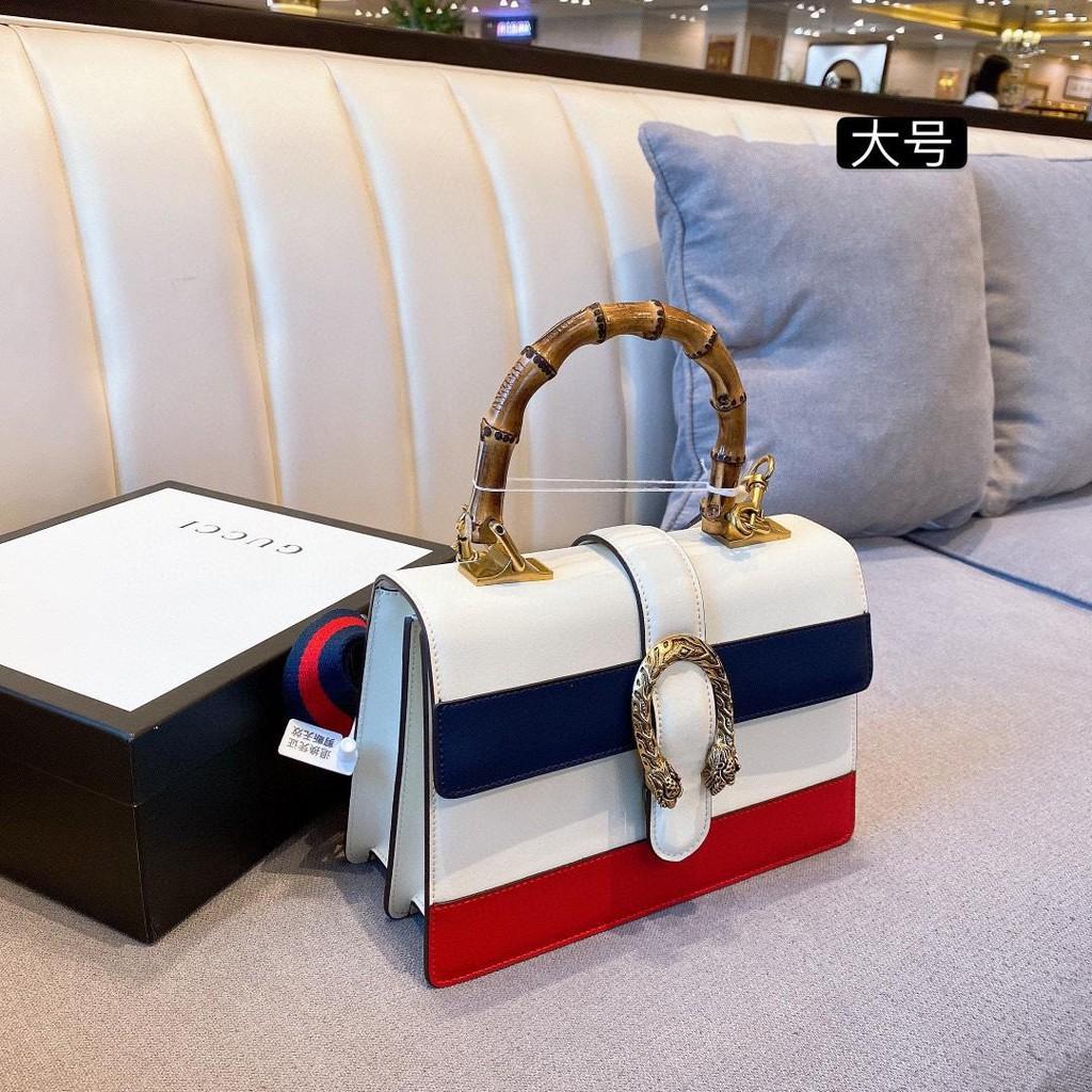 GUCCI Bamboo Large Dionysus Bag DionysusBag Bulng Single Shoulder Bag Gucci Dionysus Imported Nappa