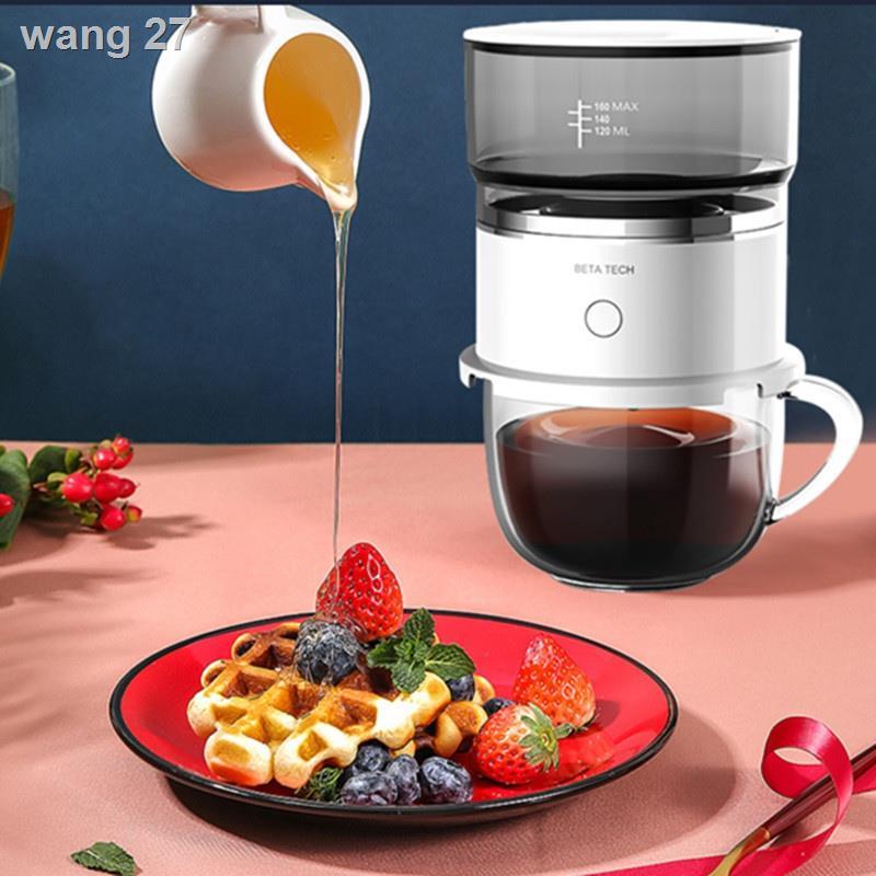 ✜หม้อกาแฟทำมือ, ถ้วยกาแฟทำมือแบบหยดขนาดเล็กที่ใช้ในครัวเรือน, เครื่องชงกาแฟแบบหมุนอัตโนมัติแบบพกพากลางแจ้งแบบพกพา