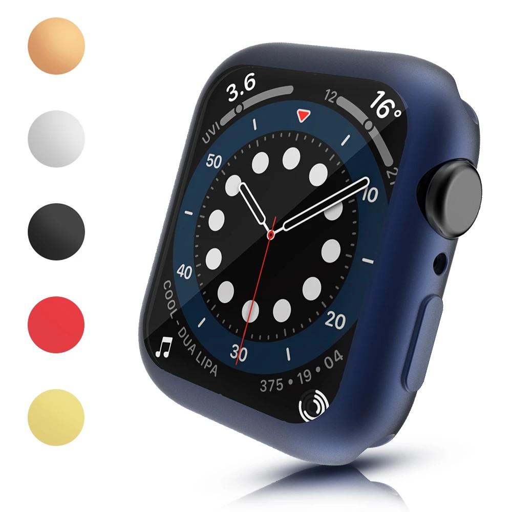 เคสป้องกันหน้าจอ Tpu ยืดหยุ่นสําหรับ Apple Watch Case Series 6 se 5  3  2 1 40mm 44 mm 42mm 38mm