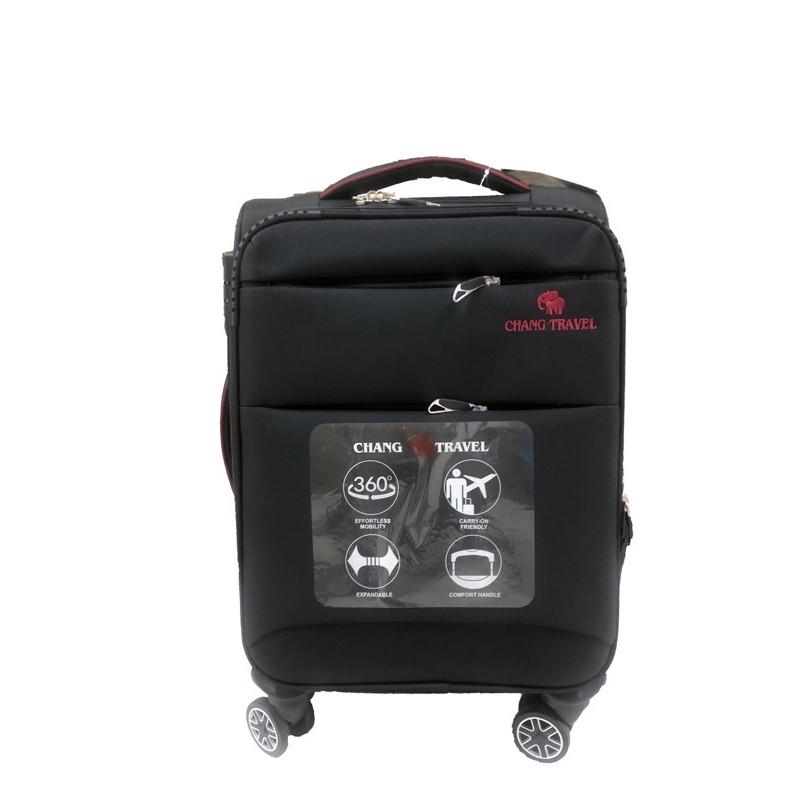 "Luggage Cotten กระเป๋าล้อลาก/ขยายได้#ซิปกันขโมย/กระเป๋าเดินทาง ผ้า ไชส์20""24""28""นิ้ว รหัส 1720 4ล้อ360องศา"