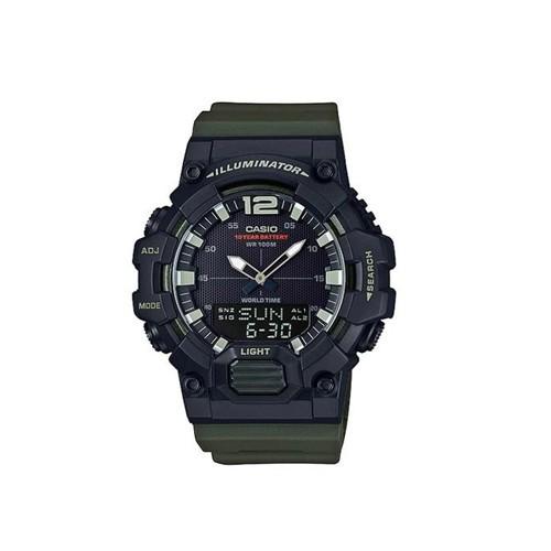 นาฬิกาคาสิโอของแท้ Casio Standard นาฬิกาข้อมือผู้ชาย สายเรซิน รุ่น HDC-700