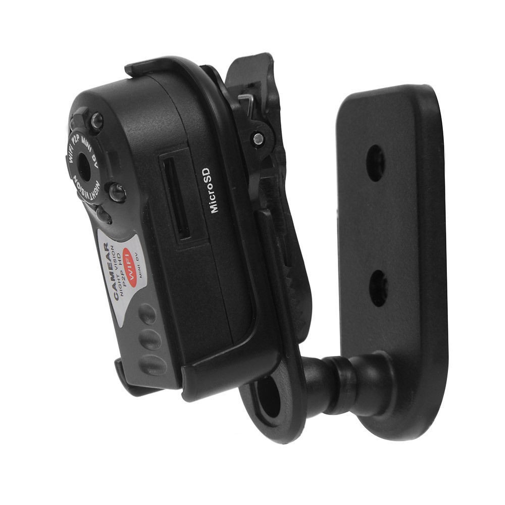 Q7 Mini WiFi HD Motion Detect Slot SD Camera+Night Vision