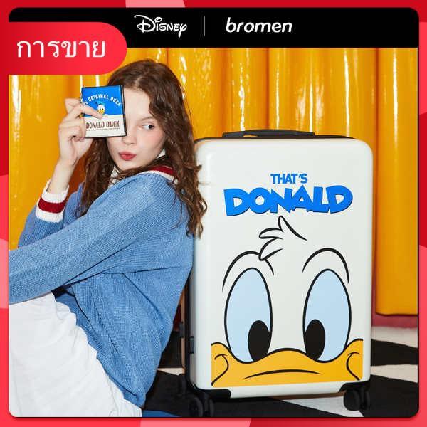 [แนะนำโดย Wei Ya] Bulai Mei Disney กระเป๋าเดินทางหญิงกล่องเล็กรถเข็น 20 นิ้ว 24 เด็กกินนอน