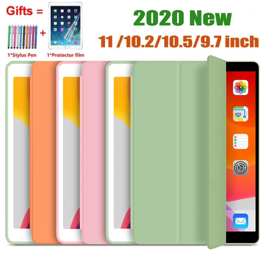เคสฝาพับลายการ์ตูนสําหรับ Ipad 8th Gen 10 . 2 Inch 2020 New Case 9 . 7 Air 2 Air 1 Air 3 10 . 5