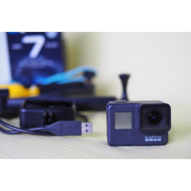 GoPro Hero 7 Black (มือสอง) ของแถมเพียบ