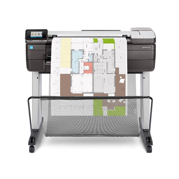 HP DesignJet T830 24-in (610-mm) Multifunction Printer (F9A28A)