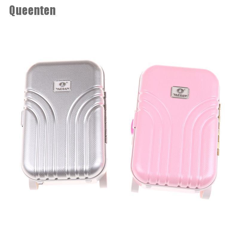 (queenten) กระเป๋าเดินทางสําหรับตุ๊กตา 18 นิ้ว