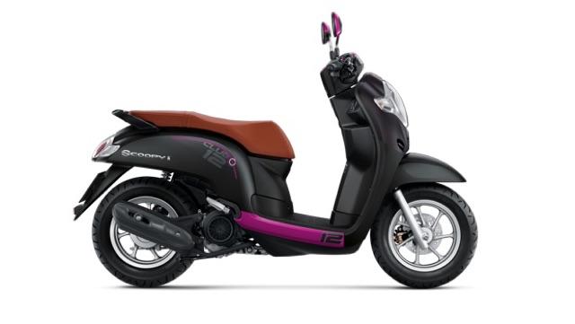 Honda New Scoopy i CLUB 12 (ล้อแม็ก คอมบายเบรค Idling Stop) - ฮอนด้า สกู้ปปี้ ไอ 110 คลับ 12 | KPNBIKE