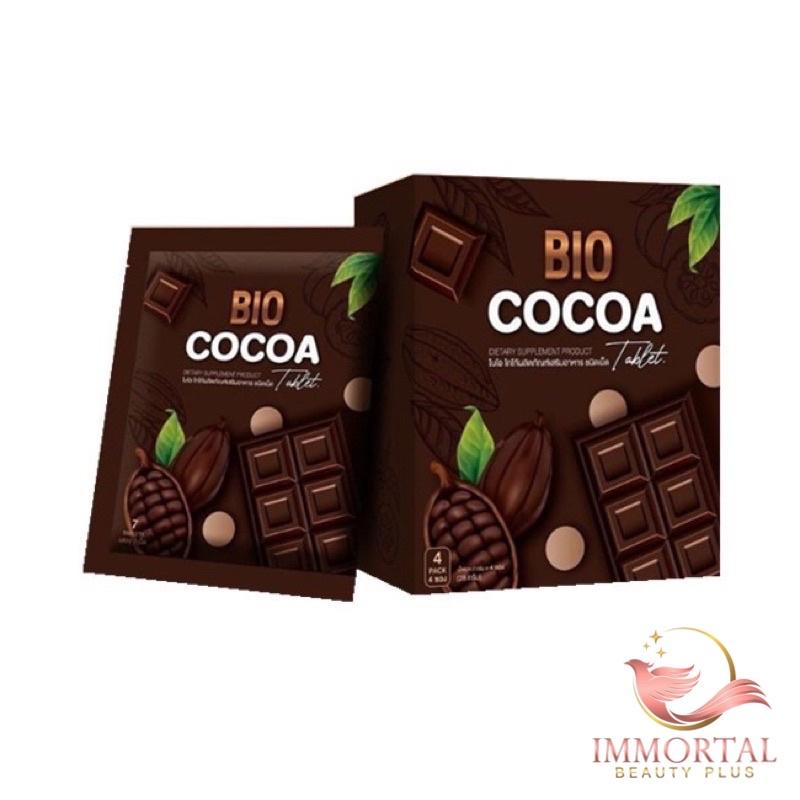 แท้💯% BIO COCOA อัดเม็ด โกโก้ดีท็อกซ์ อัดเม็ด BIO COCOA Tablet