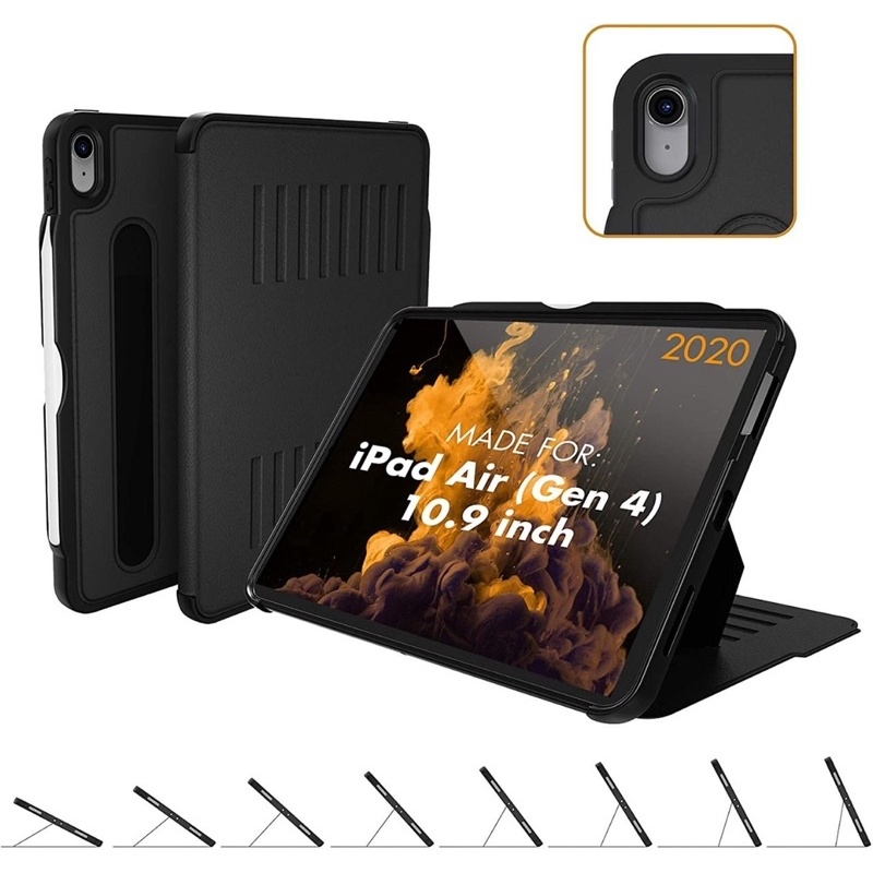 (ส่งฟรี ผ่อนได้ 0% 3 เดือน) Zugu case The Alpha สำหรับ iPad air 4 2020