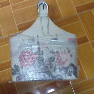 กระเป๋าพาสเทลกุหลาบ