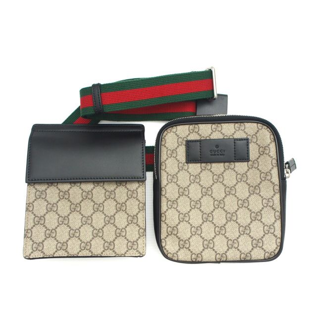Gucci supreme belt bag