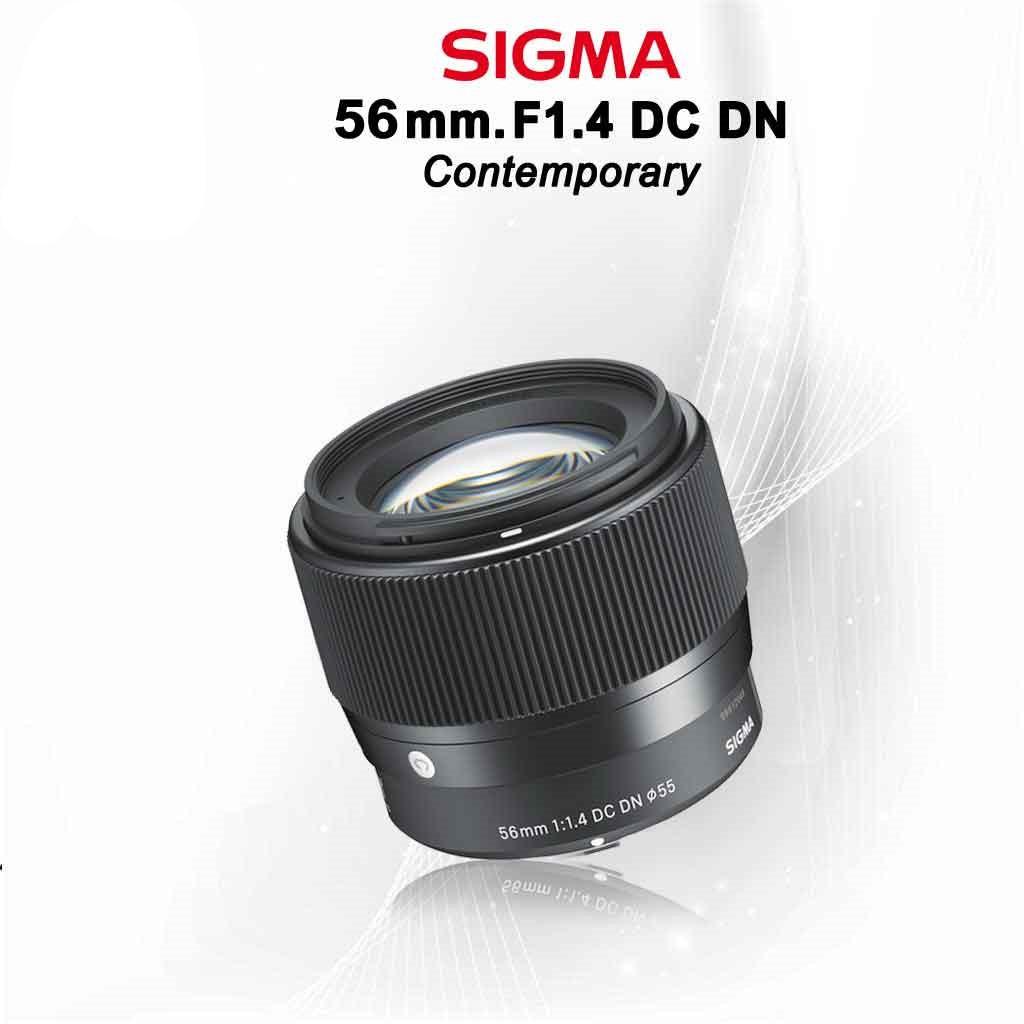 Sigma Lens 56 mm. F1.4 DC DN (Contemporary) เลนส์มิลเรอร์เลส - รับประกัน  1ปี
