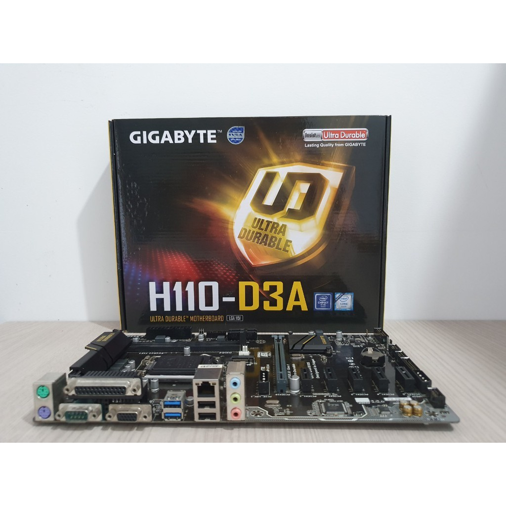 Mainboard GiGabyte H110-D3A BTC (LGA1151)