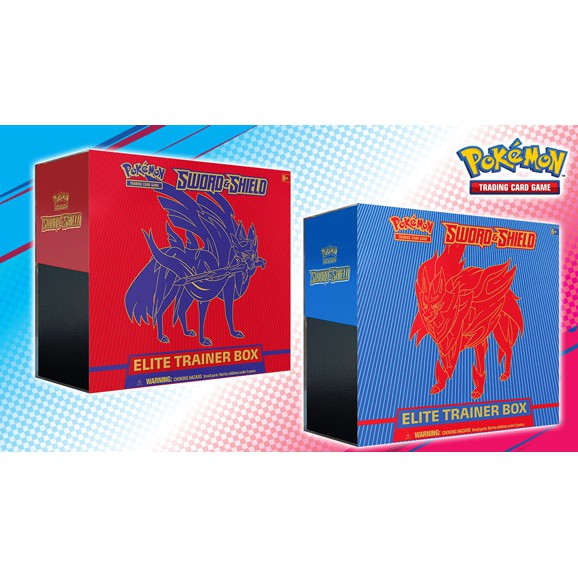 Pokemon TCG SWSH1 SS1 Sword and Shield English Elite Trainer Box Factory Sealed Brand New โปเกมอน อังกฤษ