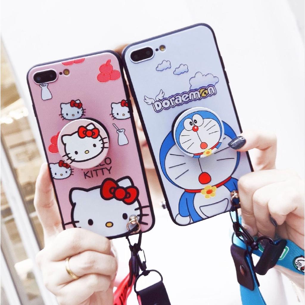 Cartoon Cute Doraemon Samsung Galaxy A7 A9 2018 A8+ A6+ J4+ J6+ A8 Star C9 Pro A6 J4 J6 plus คสมือถือ Soft TPU Case เคสป้องกัน