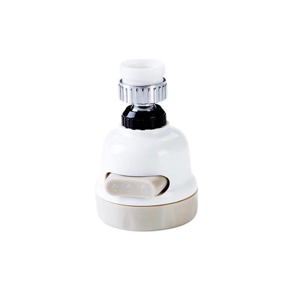 หัวต่อก๊อกน้ำ หัวก๊อกน้ำฝักบัวประหยัดน้ำเพิ่มแรงดันหมุนได้ 360 องศา ปรับระดับแรงดันน้ำได้ 3 ระดับ