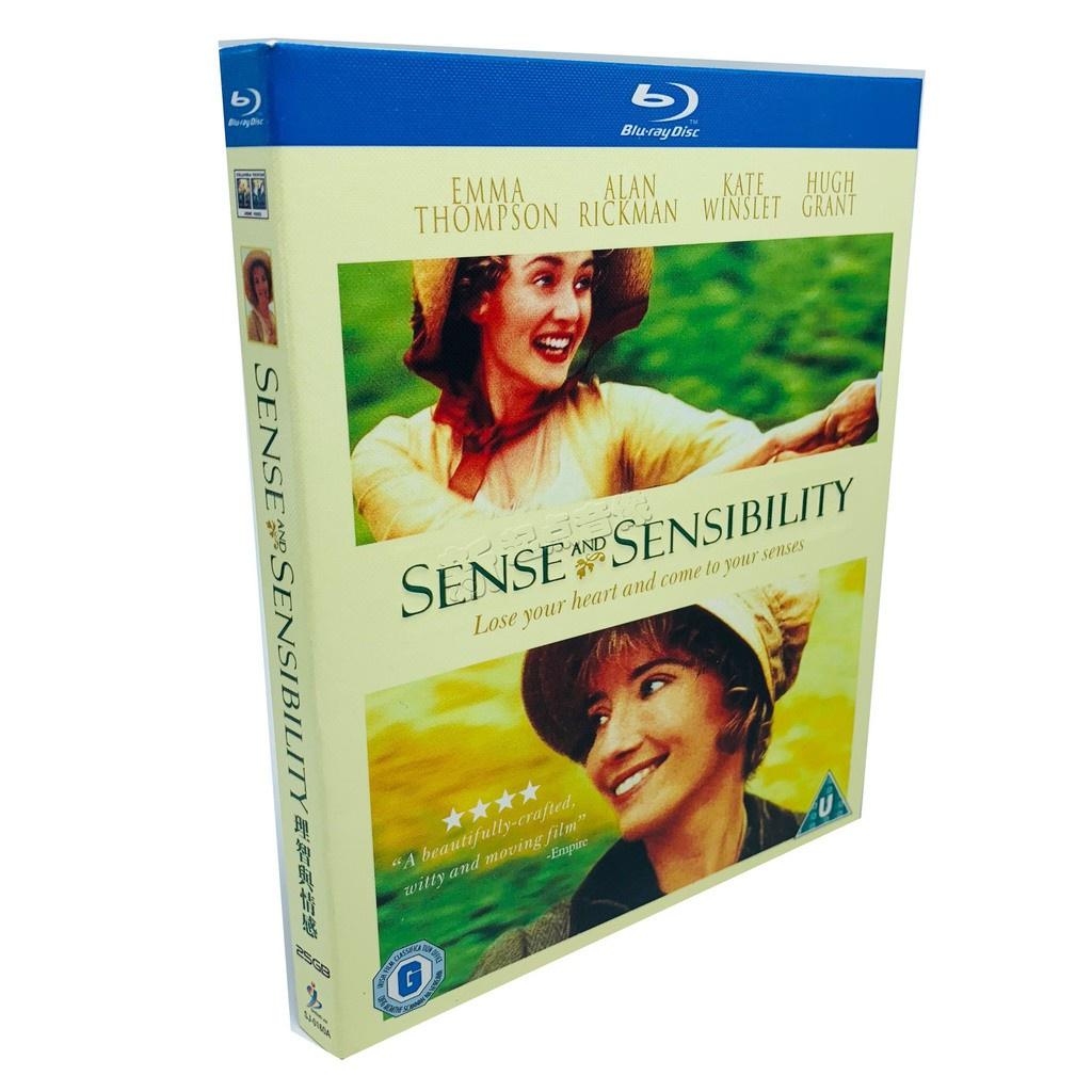 BDBlu-Ray Disc Sense and Sensibility(1996)Plot Love Movie HD Fix Collector's Edition 42Tr