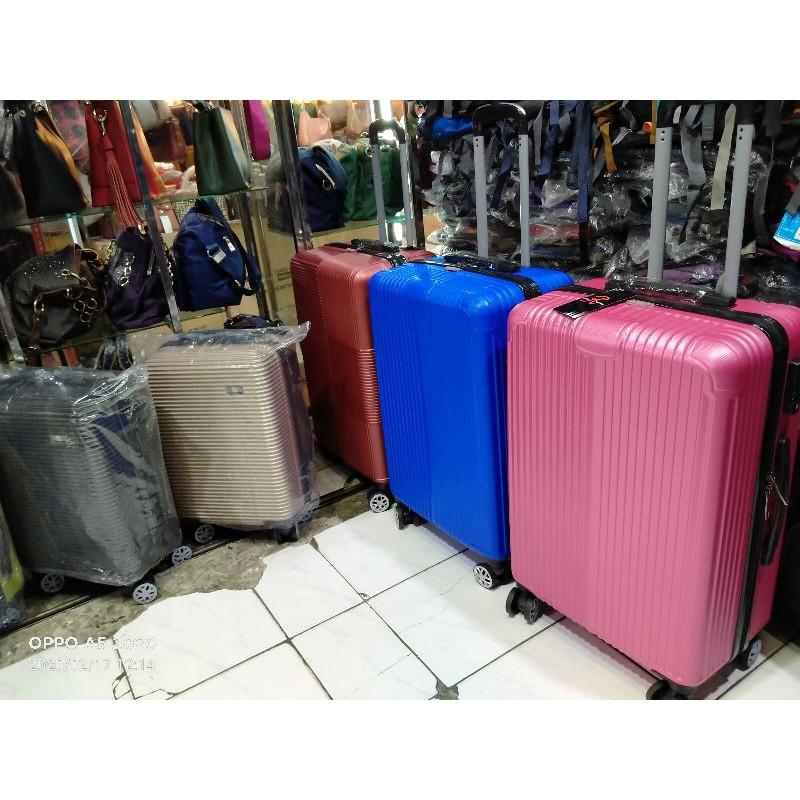 กระเป๋าเดินทางไฟเบอร์ 24 ในตัว 24 ในกระเป๋าเดินทาง