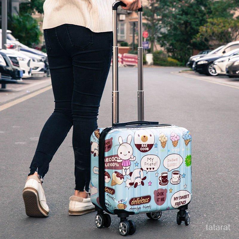 🔥14-นิ้ว 16-นิ้ว กระเป๋าลาก18-กระเป๋าเดินทางขนาดนิ้ว20กระเป๋าเดินทางขนาดนิ้วสำหรับนักเรียนชายและหญิง กระเป๋าเดินทาง  8BA
