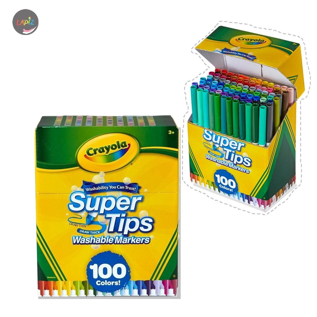 Crayola Supertips Washable Marker 100 สี
