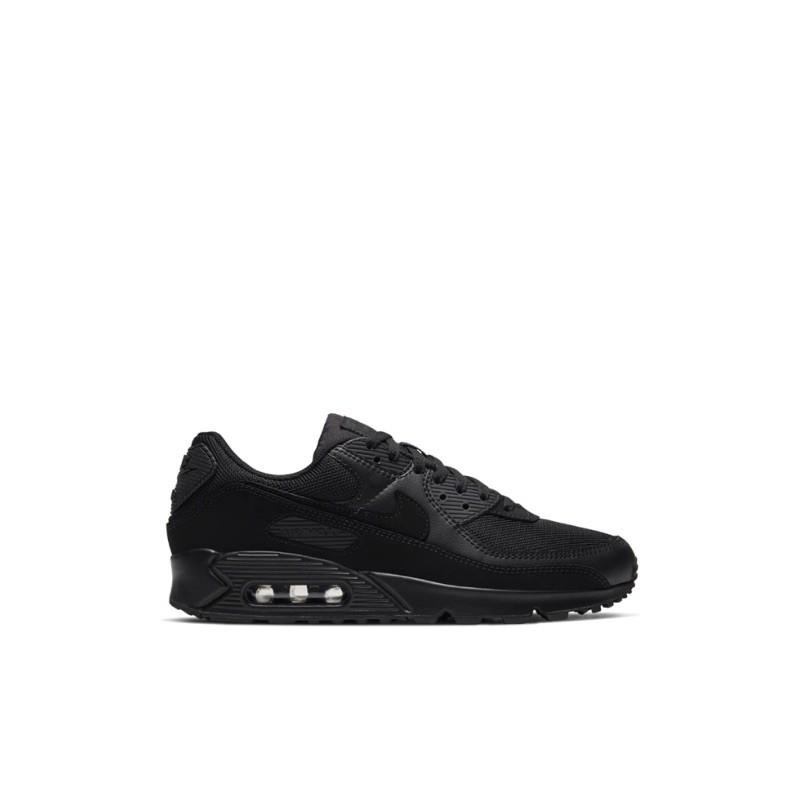 Nike Airmax 90 All Black รองเท้าผ้าใบลําลองเหมาะกับการวิ่งออกกําลังกาย