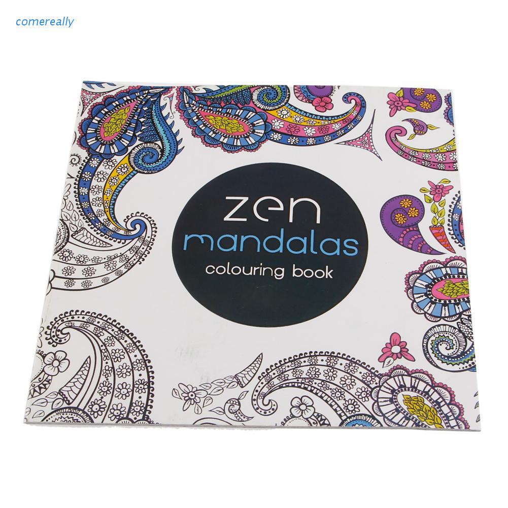 comereally Livre pour enfants Graffiti Coloring Book Peinture English Books Zen Mandalas