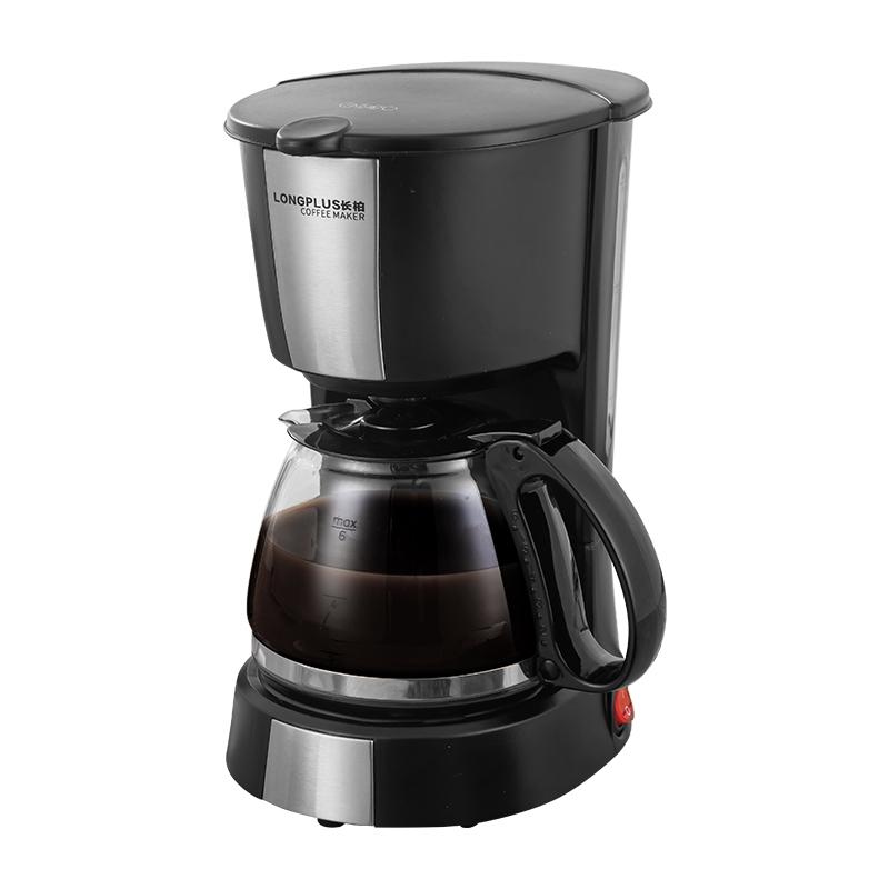 เครื่องทำกาแฟChangbai เครื่องชงกาแฟประเภทตัวกรองหม้อกาแฟสดในครัวเรือนขนาดเล็กคนเดียวมินิอเมริกันเครื่องบดถั่วอัตโนมัติ