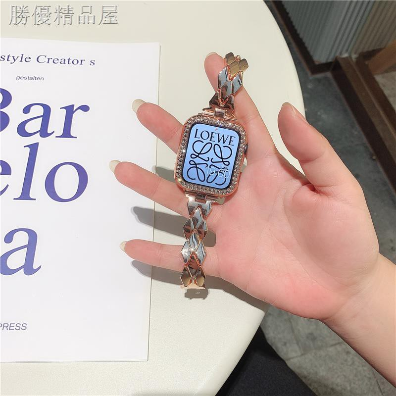 สายนาฬิกาข้อมือ Applewatch6 สําหรับ Iwatch5 / 4 / 3 / 2 / 1 / Se
